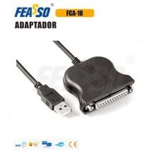 CABO ADAP. FCA-10 USB X PARALELO DB-25 FEMEA