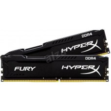 Memoria HyperX 16GB KIT DDR4 2400MHz CL15 Fury Black Series