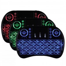 Mini Teclado Led Luz Sem Fio Wireless Touch Pad Universal Pc