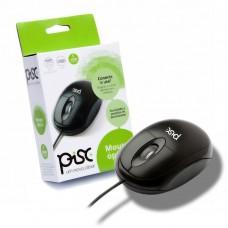 Mouse Óptico Preto – USB