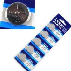 Bateria Lithium Cr2032 3v  Pilhas Moeda (Unidade)